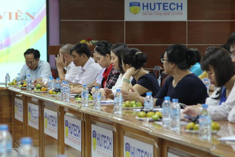 HUTECH triển khai công tác Họp mặt Giảng viên học kỳ II năm học 2015 - 2016