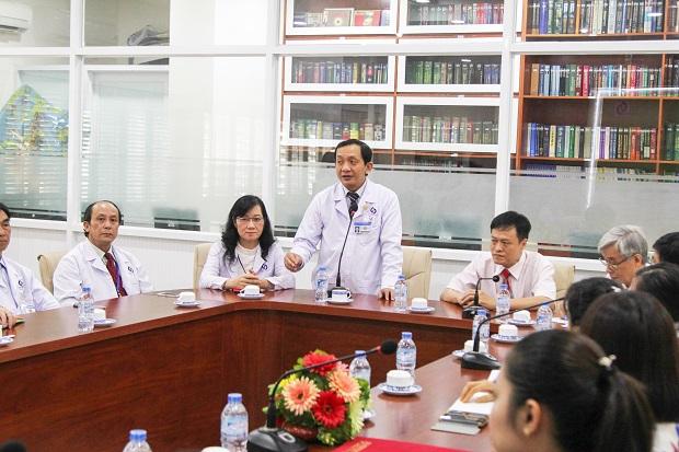 Khoa Dược HUTECH kí kết hợp tác toàn diện với bệnh viện nhân dân Gia định