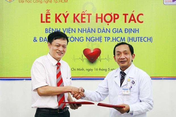 Khoa Dược HUTECH kí kết hợp tác với Bệnh viên Nhân dân Gia Định