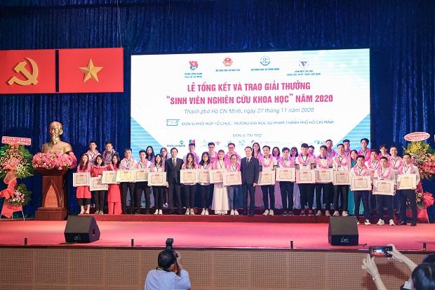 Sinh viên HUTECH giành 09 giải tại Giải thưởng Sinh viên Nghiên cứu khoa học cấp Bộ 2020