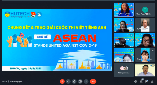 """Sinh viên Viện Khoa học Xã hội & Nhân văn giành giải Nhất cuộc thi Viết tiếng Anh """"ASEAN Stands United Against Covid-19"""""""