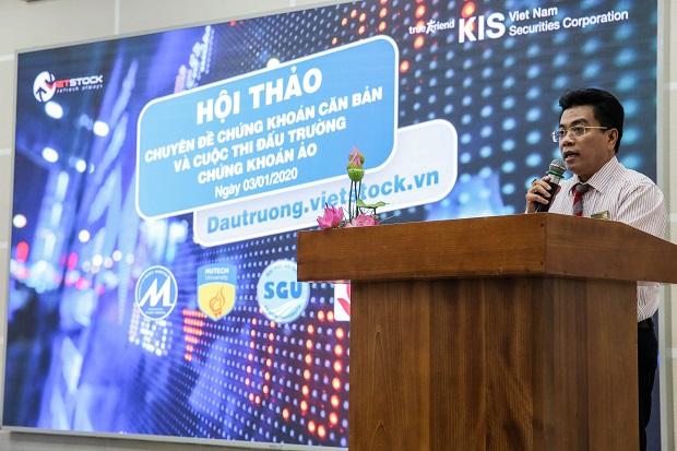 Sinh viên HUTECH tìm hiểu về thị trường chứng khoán Việt Nam cùng các Chuyên gia Chứng khoán