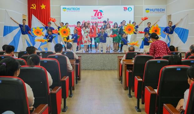 HUTECH trang trọng tổ chức Lễ kỷ niệm 70 năm ngày truyền thống Sinh viên, Học sinh