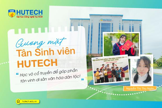 """Tân Sinh viên Nguyễn Thị Thu Ngân: """"Học võ cổ truyền là góp phần bảo tồn di sản văn hoá dân tộc!"""""""