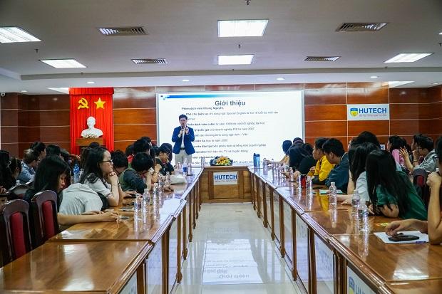 Sinh viên HUTECH tìm hiểu về nhu cầu và thách thức của nghề Biên Phiên dịch tiếng Anh tại Việt Nam