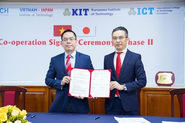 HUTECH và ĐH Công nghệ Kanazawa ký kết MOU giai đoạn 2, tiếp tục đẩy mạnh hợp tác đào tạo