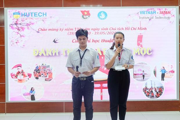 """Sinh viên HUTECH """"Đánh thức mặt trời mọc"""" để tìm hiểu văn hóa Việt - Nhật"""