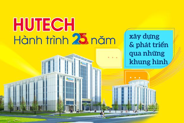 HUTECH - Hành trình 25 năm xây dựng & phát triển qua những khung hình