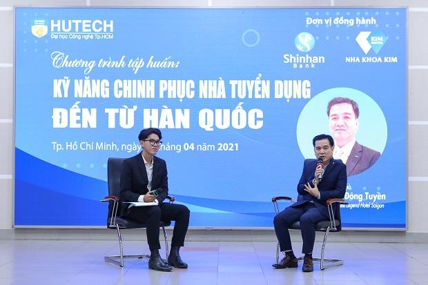 """""""Bật mí"""" kỹ năng chinh phục nhà tuyển dụng Hàn Quốc cho sinh viên viện Công nghệ Việt Hàn"""