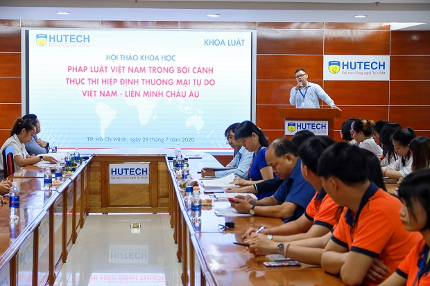 Sinh viên HUTECH tiên phong tìm hiểu Hiệp định thương mại tự do Việt Nam - EU (EVFTA)