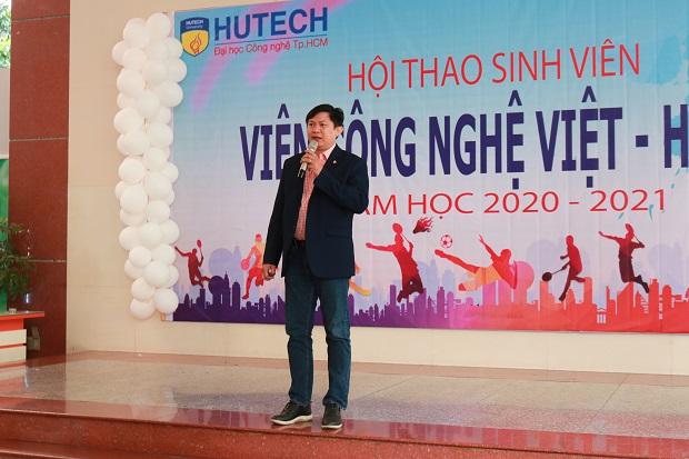 Lễ Khai mạc Hội thao sinh viên viện Công nghệ Việt - Hàn (VKIT) Năm học 2020 - 2021