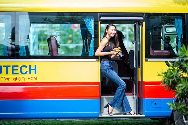 """Đường đến HUTECH - Loạt """"bí kíp"""" đi đường hiệu quả dành cho sinh viên"""