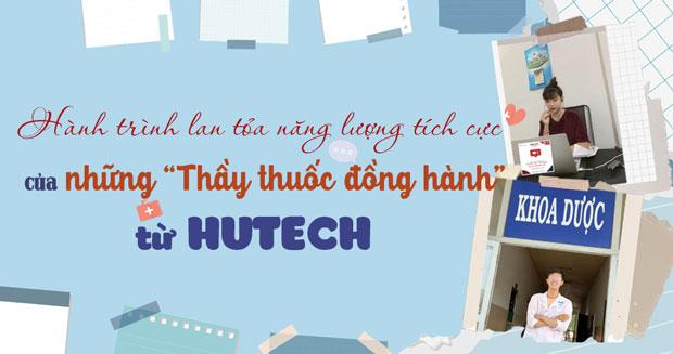 """Hành trình lan tỏa năng lượng tích cực của những """"thầy thuốc đồng hành"""" từ HUTECH"""
