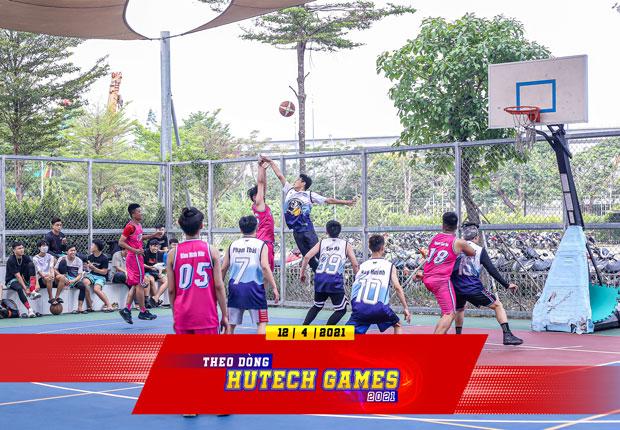 Đội tuyển bóng rổ nam của Viện kỹ thuật lọt vào tứ kết tại HUTECH Games 2021