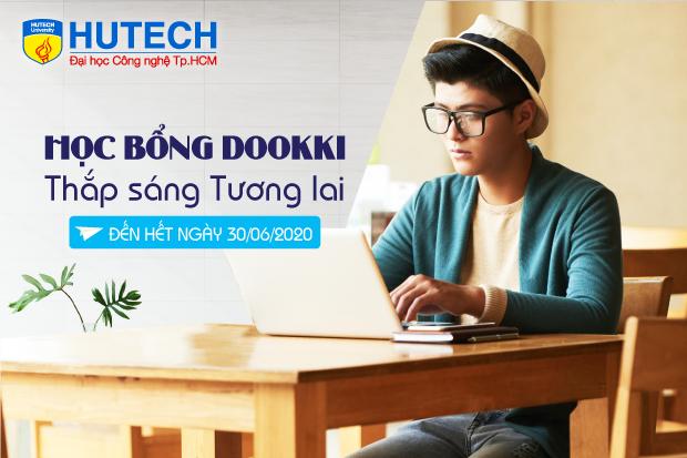 08 suất học bổng Dookki - Thắp sáng tương lai dành cho sinh viên HUTECH có hoàn cảnh khó khăn