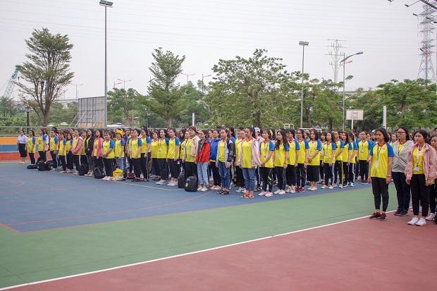 Chính thức khởi động Hội thao sinh viên Viện Khoa học Xã hội và Nhân văn năm học 2019 - 2020