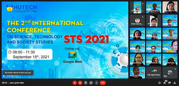 Hội thảo Khoa học quốc tế STS 2021: Diễn đàn học thuật trực tuyến sôi nổi