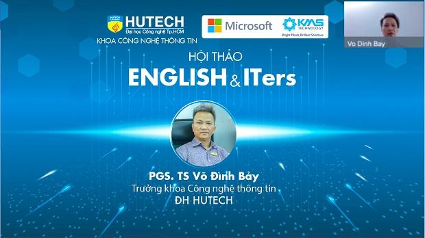 """Sinh viên HUTECH chinh phục tiếng Anh và nắm bắt cơ hội thăng tiến cùng hội thảo """"English & ITers"""""""