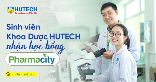 15 sinh viên Khoa Dược HUTECH nhận Học bổng Pharmacity
