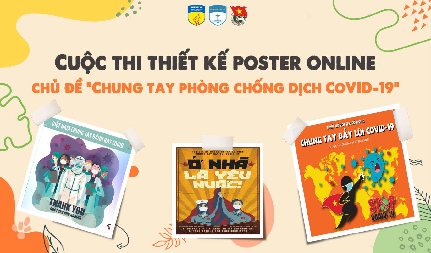 Gia hạn cuộc thi Thiết kế ấn phẩm tuyên truyền phòng chống dịch COVID - 19 đến ngày 10/06