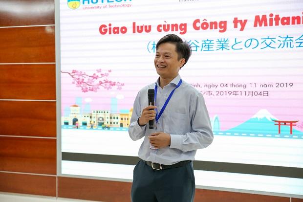 VJIT students strongly impress the delegation from Mitani Sangyo company(Japan)