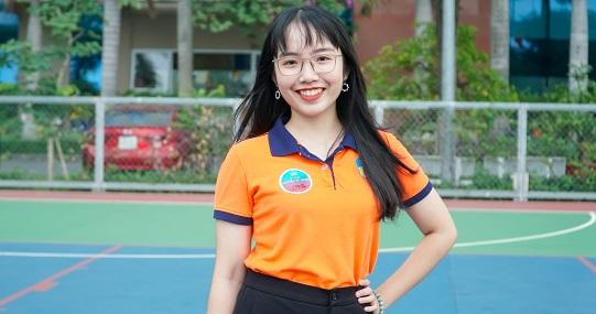 Nữ Chủ tịch Hội Sinh viên tài năng, có nụ cười tỏa nắng