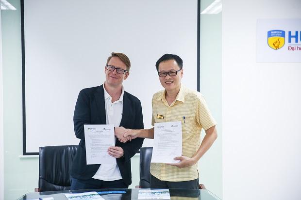 HUTECH and LTL Mandarin - International Language School sign Cooperation Agreement
