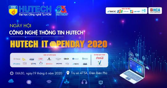 """Chuỗi sự kiện tuyển dụng """"HUTECH IT OPEN DAY 2020"""" sẽ chính thức khởi động từ 01/6"""