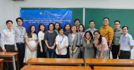 Giảng viên khoa Tiếng Anh tìm giải pháp giảng dạy Tiếng Anh hiệu quả cho đối tượng EFL