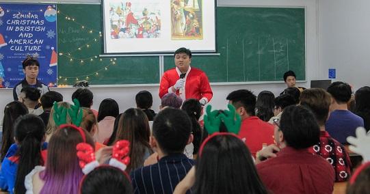 Giáng sinh trong văn hóa Anh - Mỹ dưới góc nhìn của sinh viên HUTECH