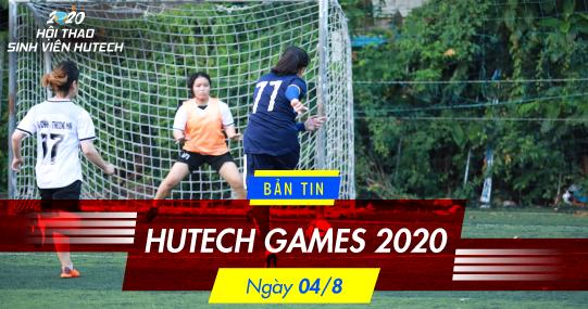 Bản tin HUTECH GAMES 2020: Khoa Nhật Bản học - Hiện tượng Bóng đá nữ tại Vòng bảng