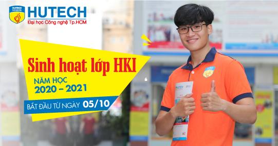 Bắt đầu Sinh hoạt lớp HKI năm học 2020 - 2021 từ ngày 05/10