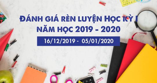 Từ 16/12, sinh viên HUTECH bắt đầu đánh giá rèn luyện Học kỳ I năm học 2019 - 2020