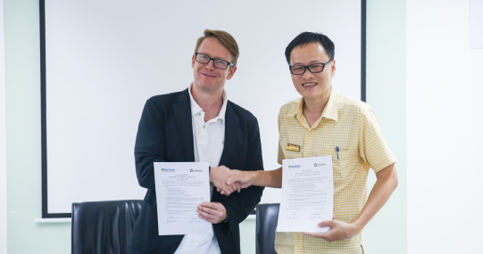 HUTECH cùng trường Ngôn ngữ Quốc tế LTL Mandarin ký kết thỏa thuận hợp tác