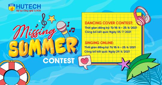 Chỉ còn 01 ngày đăng ký tham gia cuộc thi trực tuyến Missing Summer
