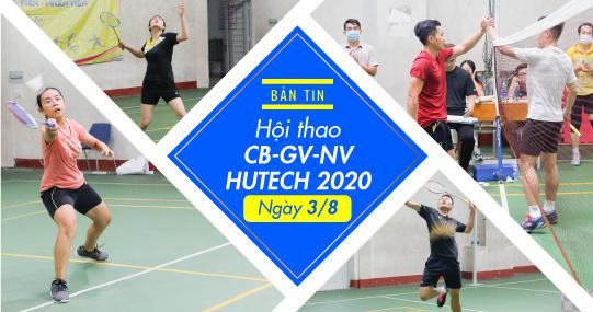 """Bộ môn Cầu lông Hội thao CB-GV-NV 2020: Cuộc """"đổi ngôi"""" ngoạn mục"""