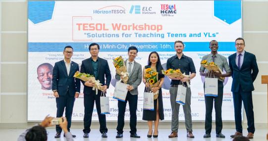 ELC Việt Nam giao lưu với TESOL HCMC Association & Horizon TESOL