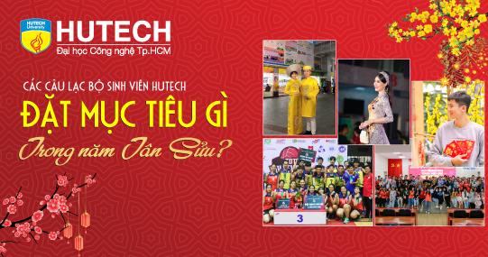 Các Câu lạc bộ sinh viên HUTECH đặt mục tiêu gì trong năm Tân Sửu?