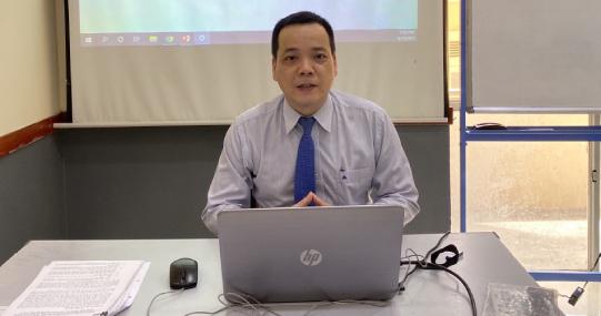 """Sinh viên Viện KHXH&NV tìm hiểu """"Tổng quan cục diện thế giới và đối ngoại Việt Nam năm 2020 - 2021"""""""