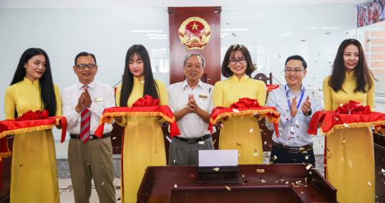 HUTECH chính thức khánh thành Trung tâm Nghiên cứu - Đào tạo - Tư vấn - Thực hành nghề Luật