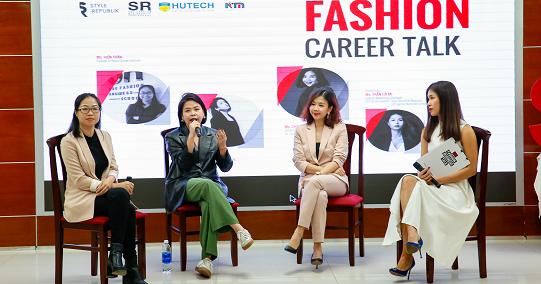 Sinh viên HUTECH tìm hiểu câu chuyện Ngành và Nghề Thời trang tại Việt Nam
