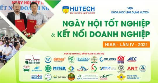 """Hơn 30 doanh nghiệp """"chờ"""" sinh viên tại """"Ngày hội Tốt nghiệp và Kết nối doanh nghiệp"""" của Viện Khoa học Ứng dụng HUTECH"""