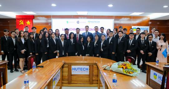 Viện Đào tạo Quốc tế HUTECH gặp gỡ sinh viên chương trình Cử nhân 01 năm của UCP