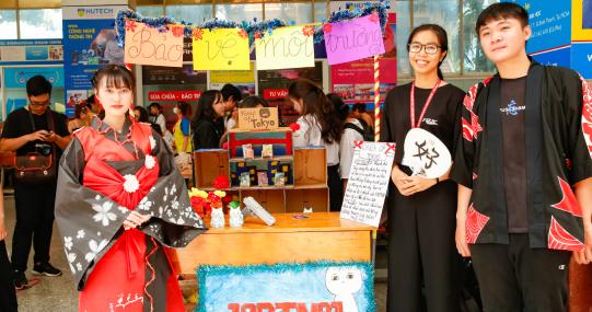 HUTECH khai mạc ngày hội Mottainai 2020 với thông điệp ý nghĩa vì môi trường