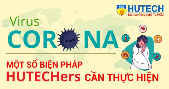 HUTECH chủ động phòng chống virus Corona trước khi sinh viên trở lại học sau Tết