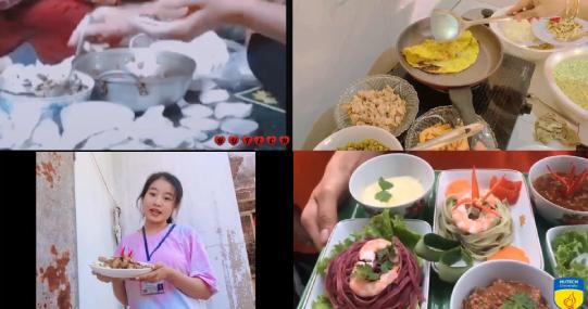 """Dạo """"food tour"""" online tại vòng Chung kết cuộc thi Sinh viên vào bếp"""