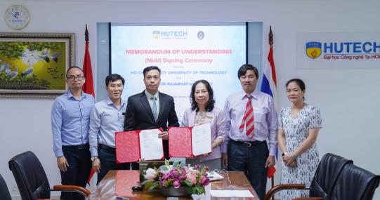HUTECH và ĐH Thepsatri Rajabhat ký kết MOU, thúc đẩy trao đổi học thuật và giao lưu văn hóa