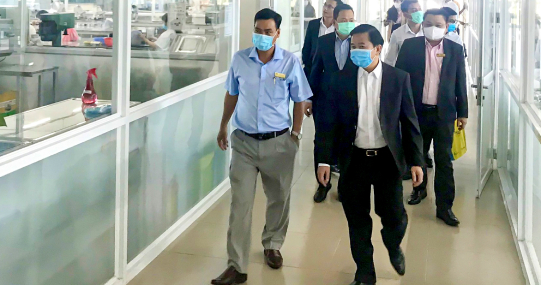 HUTECH đón đoàn lãnh đạo cấp cao của Công ty C.P. Việt Nam đến thăm và làm việc
