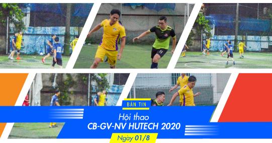 """Bán kết Bóng đá nam Hội thao CB-GV-NV 2020 - """"Người cầm quyền khôi phục uy quyền"""""""