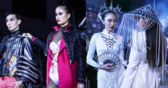 """Chiêm ngưỡng loạt thiết kế độc đáo """"cộp mác"""" sinh viên HUTECH tại """"Evening Gown and Festival Project"""""""